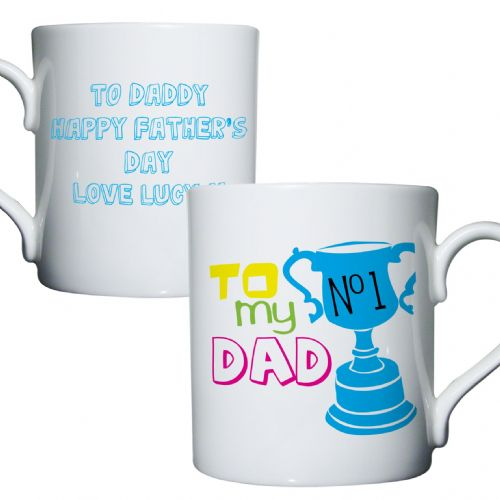 Personalised To My No1 Dad Mug